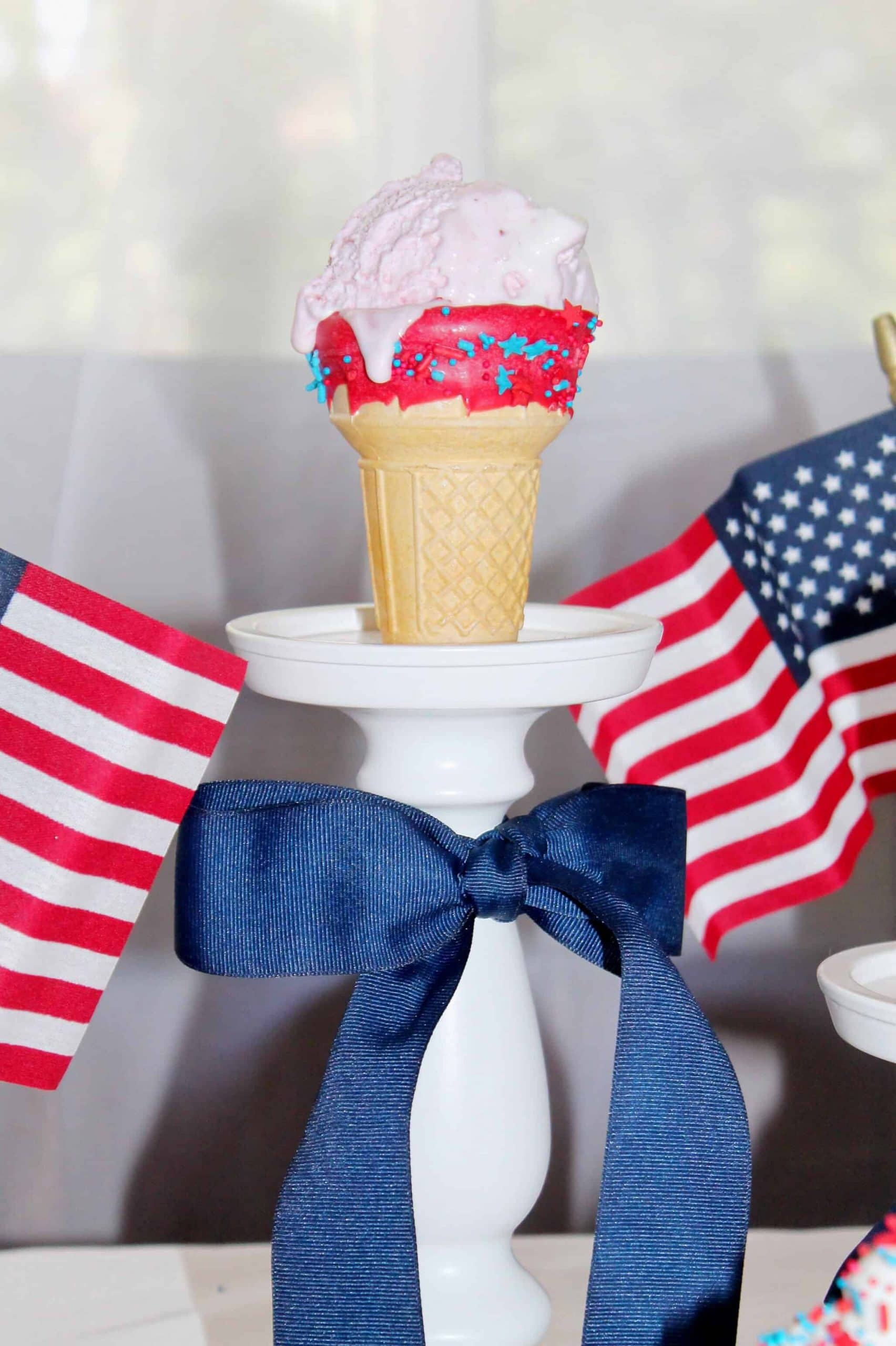 4th of July Ice Cream Cones 1 scaled - 4th of July Ice Cream Cones