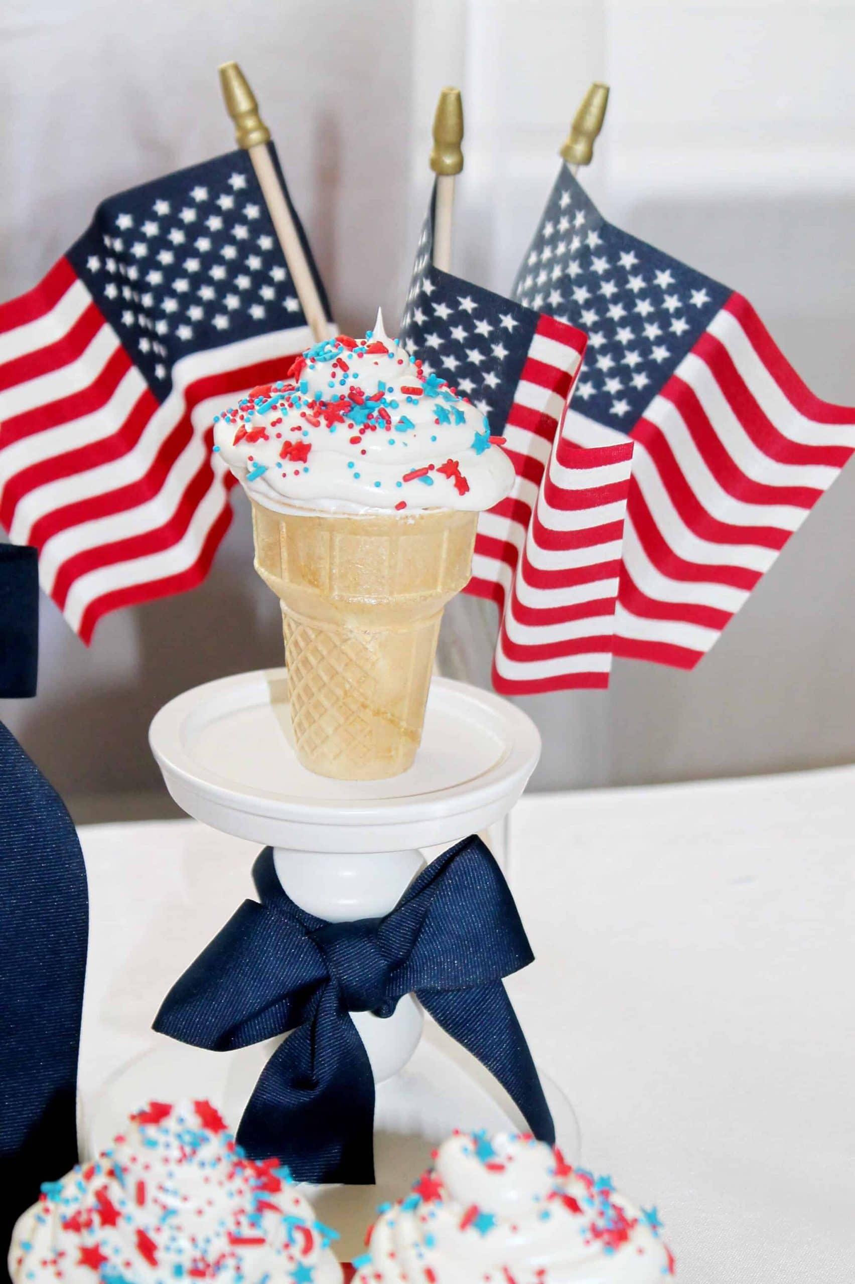 4th-of-july-ice-cream-cones
