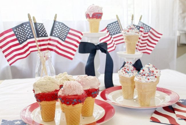 4th-of-july-ice-cream-cones