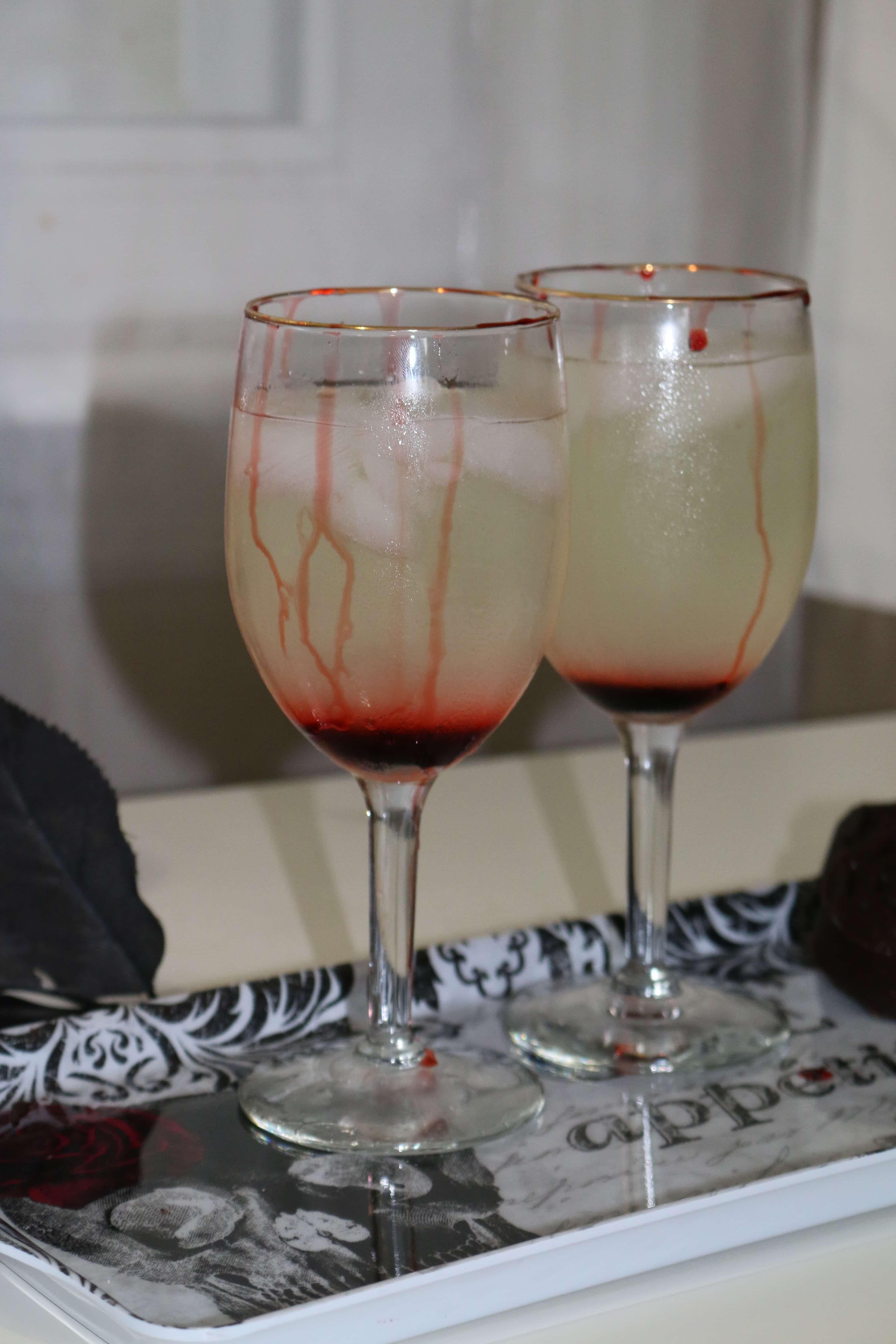 IMG 7227 - Bloody Lemonade para Halloween