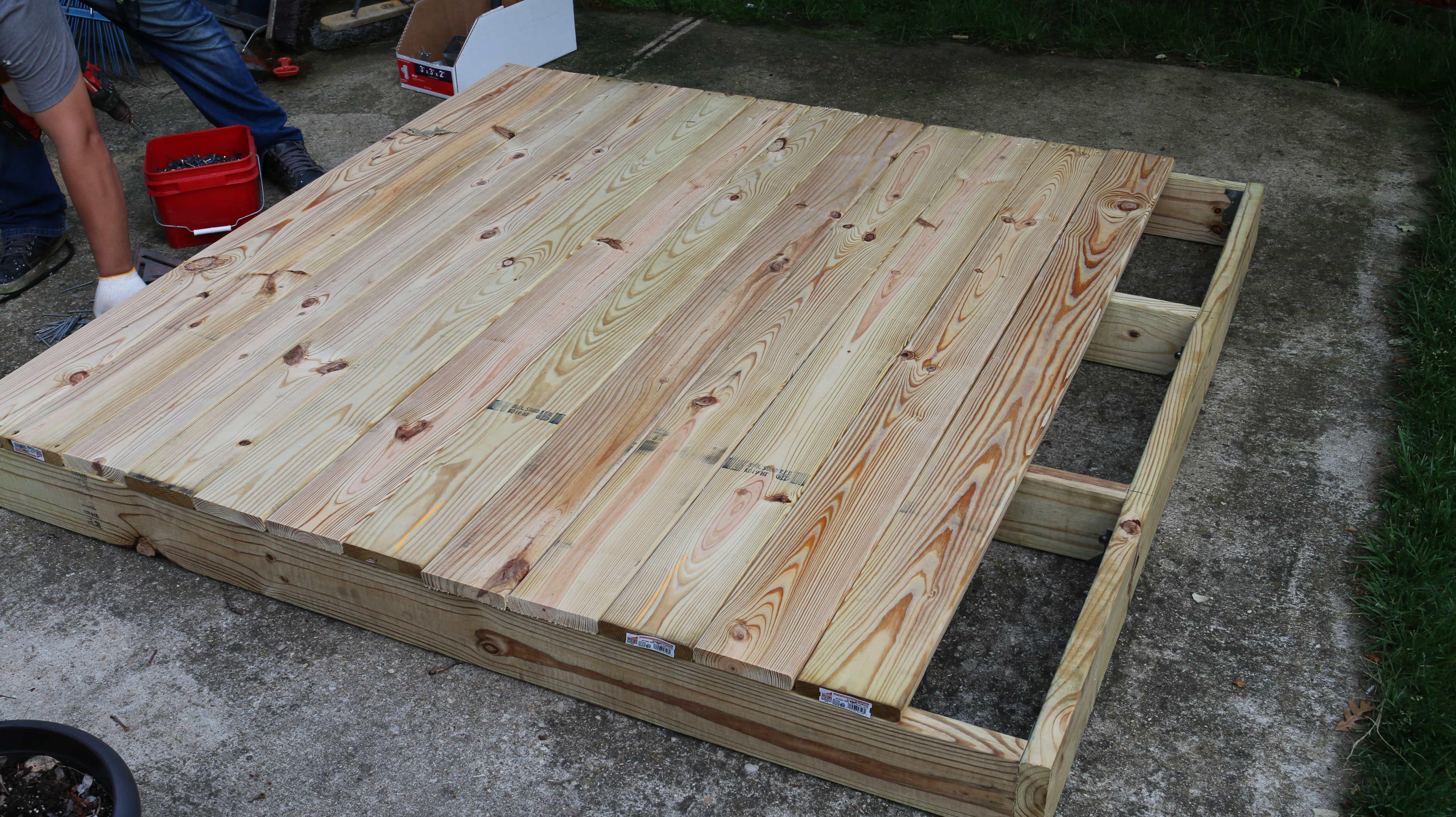 1 - Cómo construir una casita de juegos para el jardín
