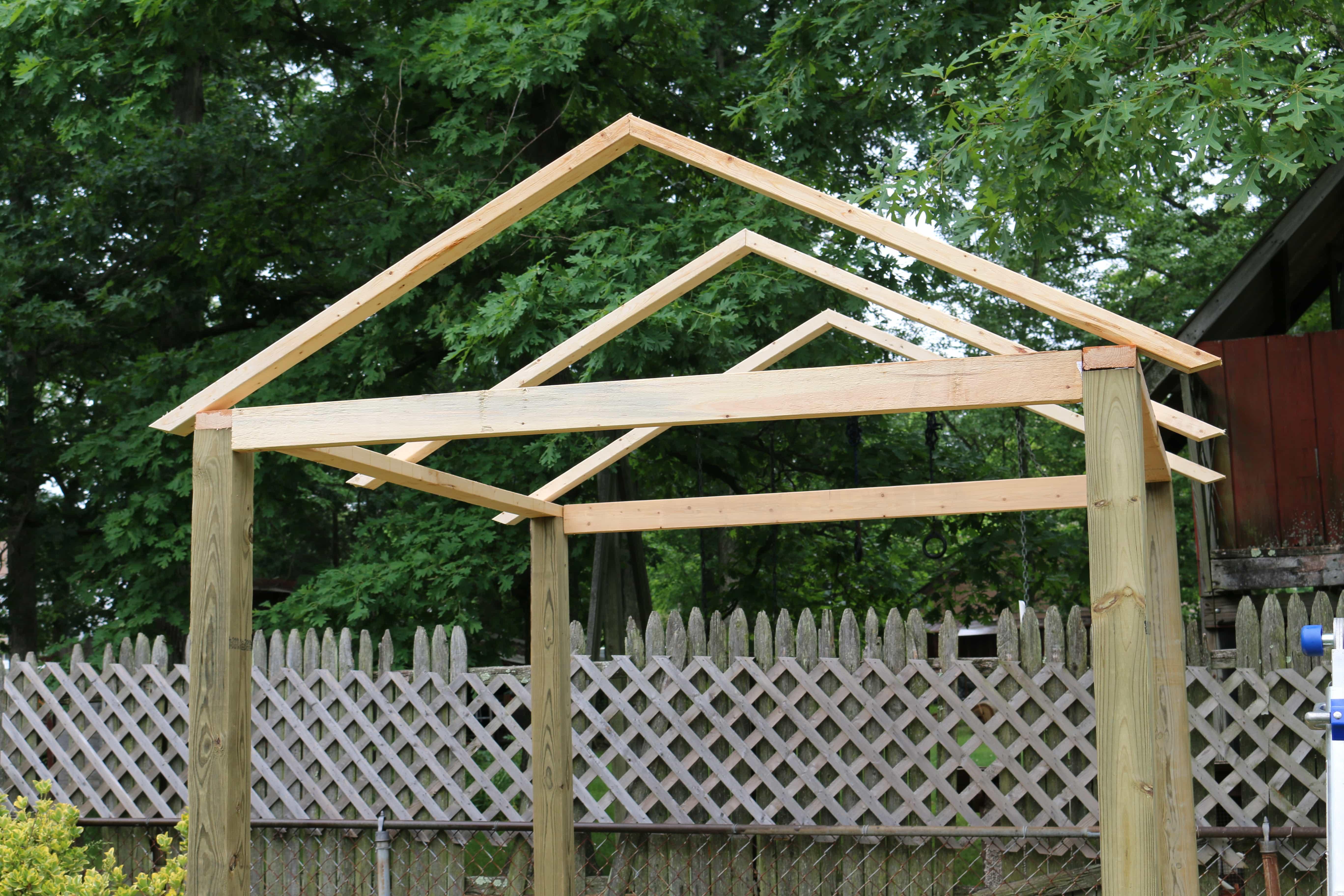 3 - Cómo construir una casita de juegos para el jardín