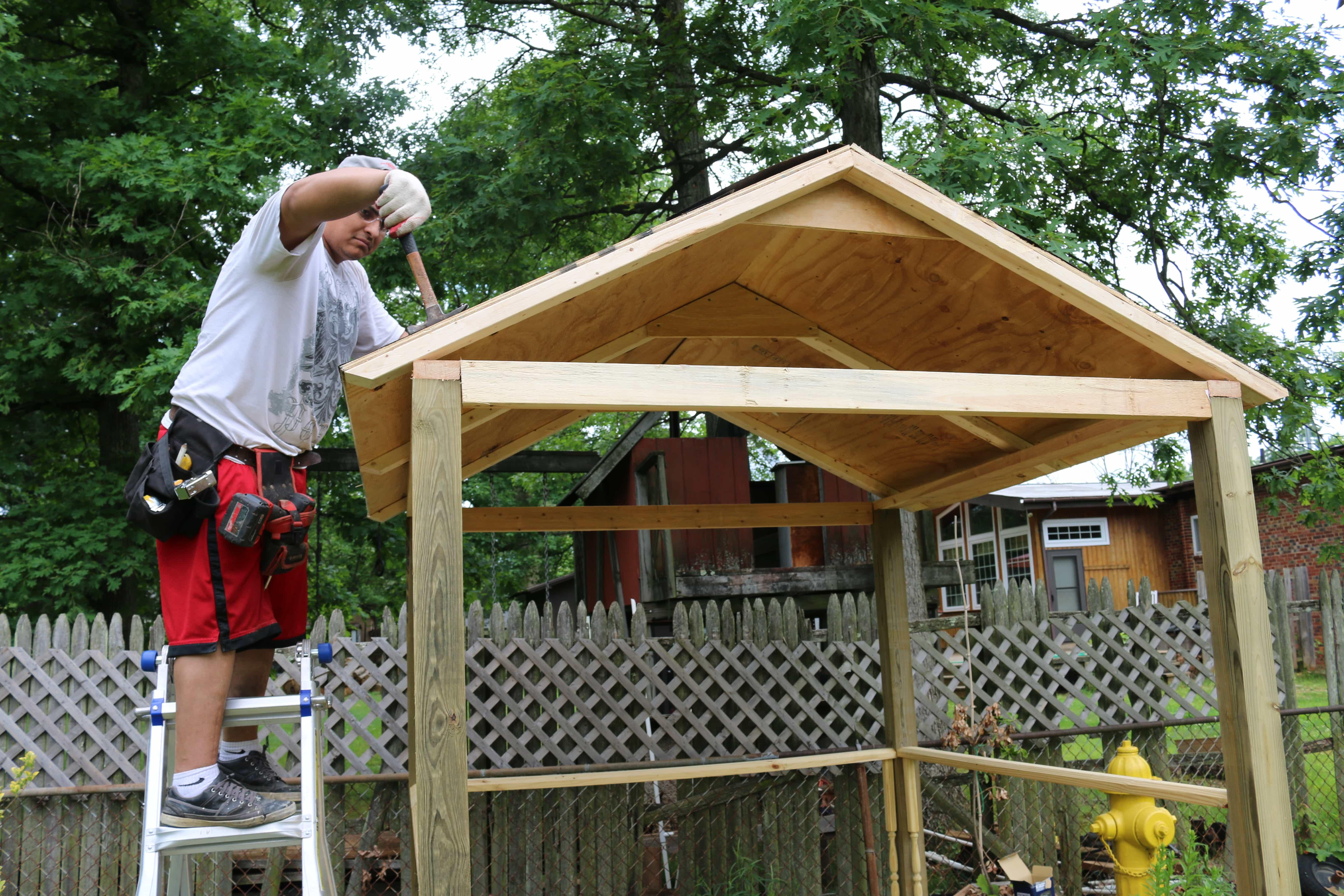 4  - Cómo construir una casita de juegos para el jardín