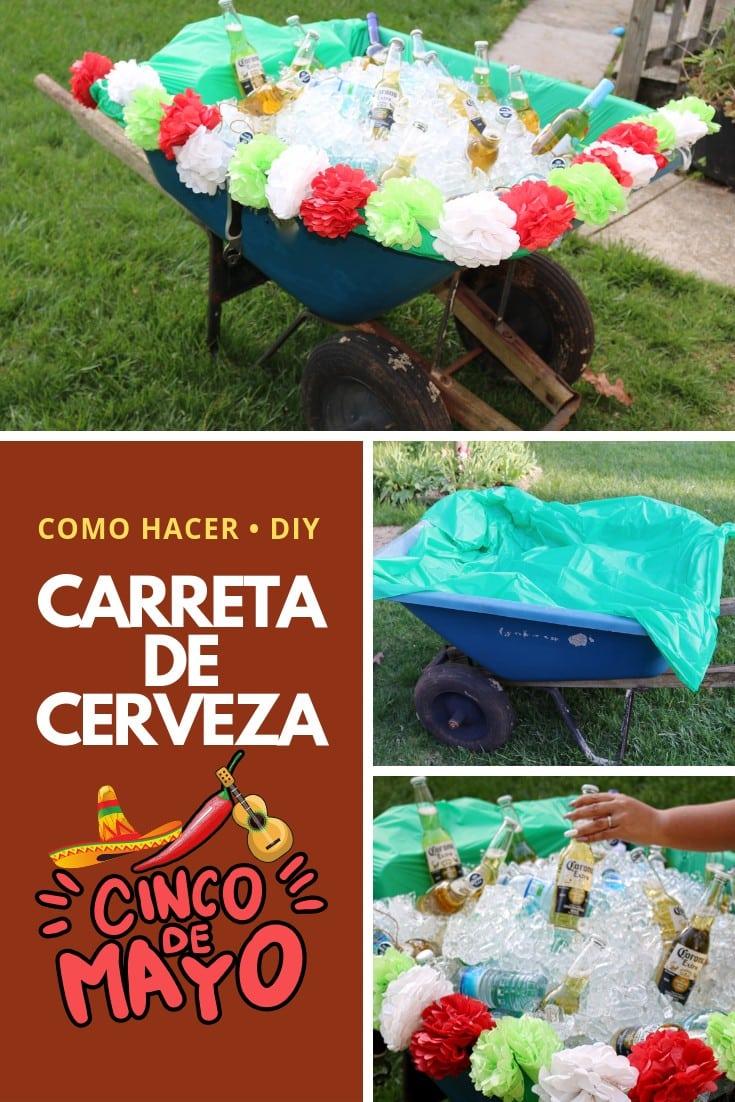 5 de mayo carreta de cerveza - Carreta de Cerveza para la celebración del 5 de Mayo