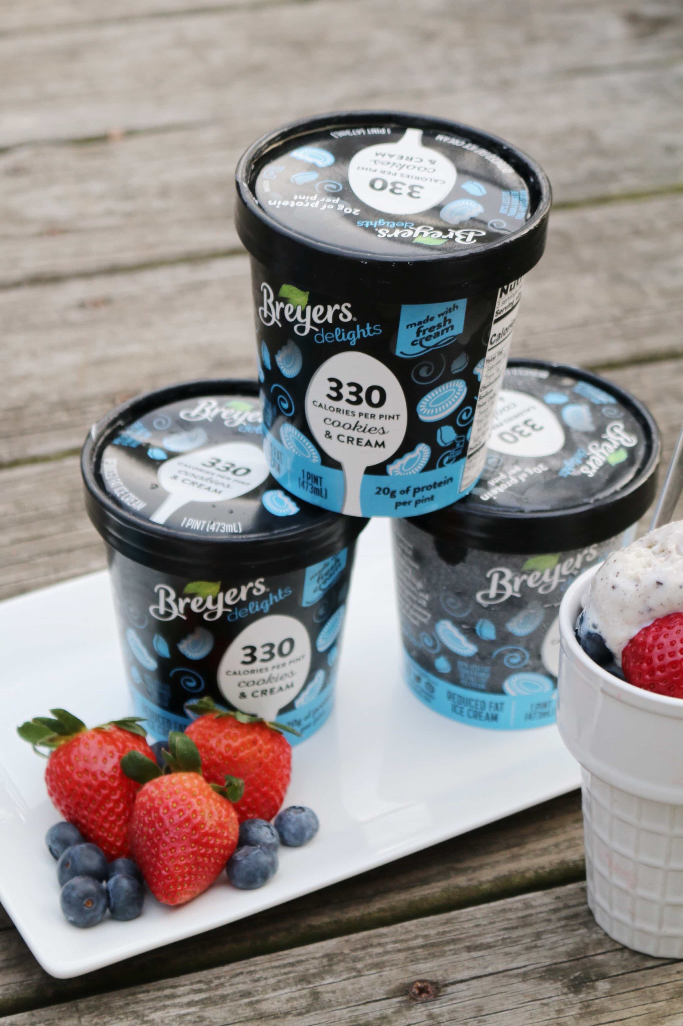 Enlight920 - How do I enjoy a pint of ice cream without all the guilt? Breyers delights!