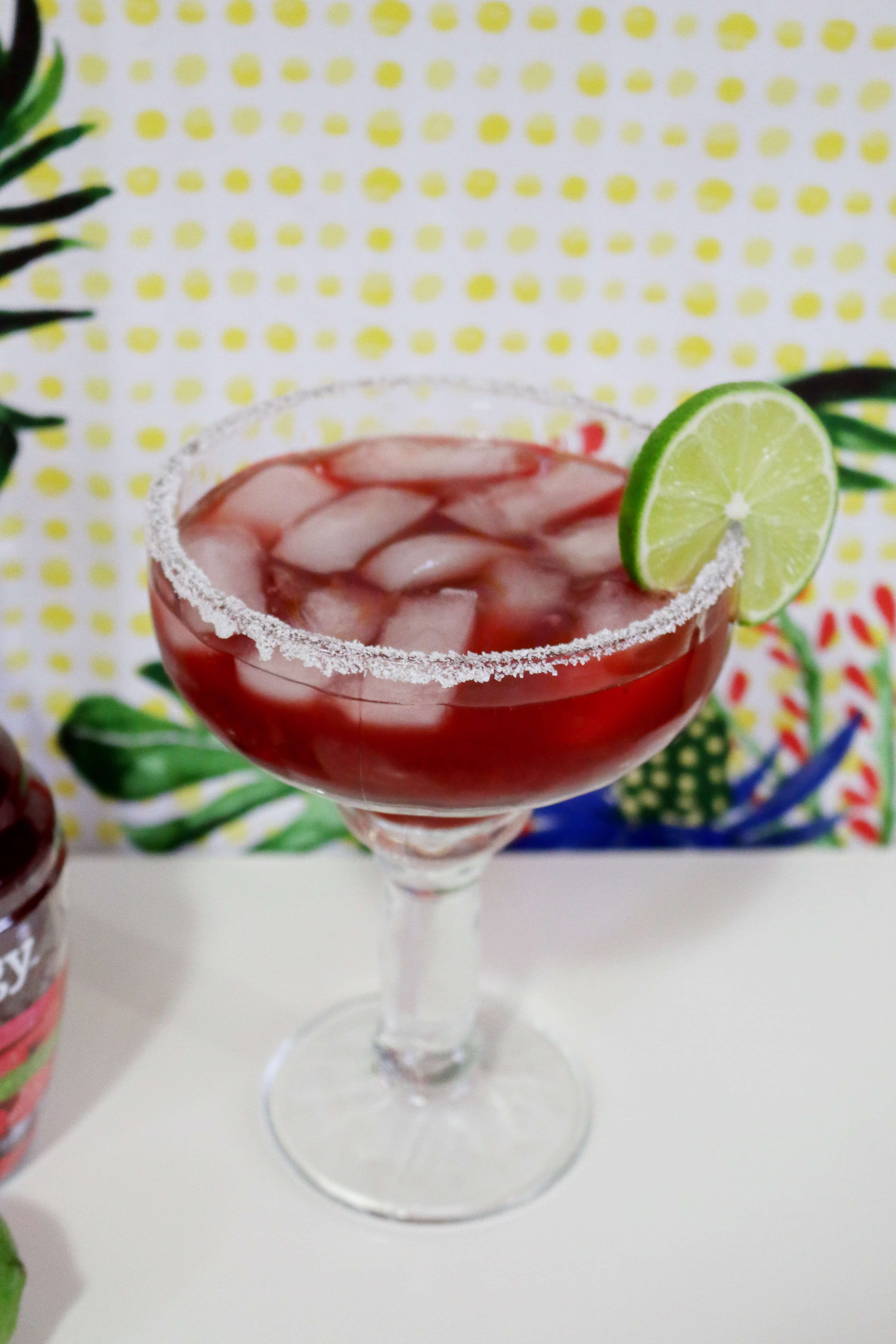 Berry-Beet-a-rita a delicious Beet margarita - Jenny The Voice