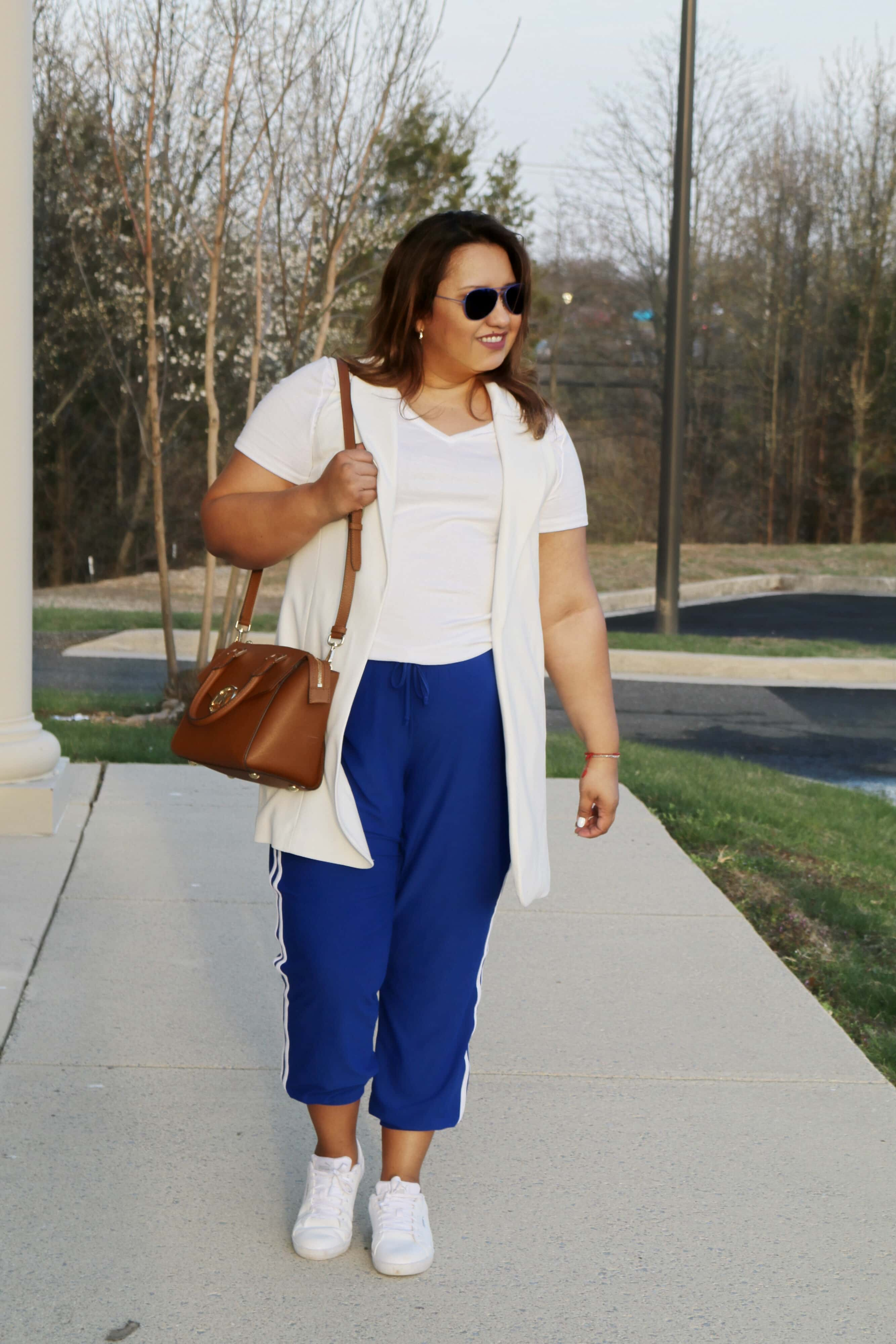 Blue-side-stripe-jogger-pants