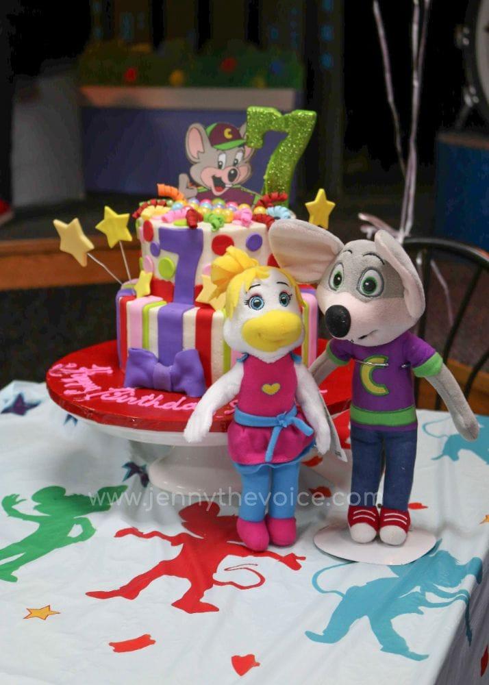 Cumpleaños-Chuck-E-Cheese