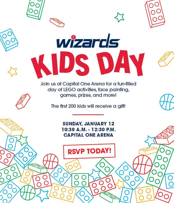 Wizards Kids Day 1 - Wizards Kids Day: Cómo registrarse