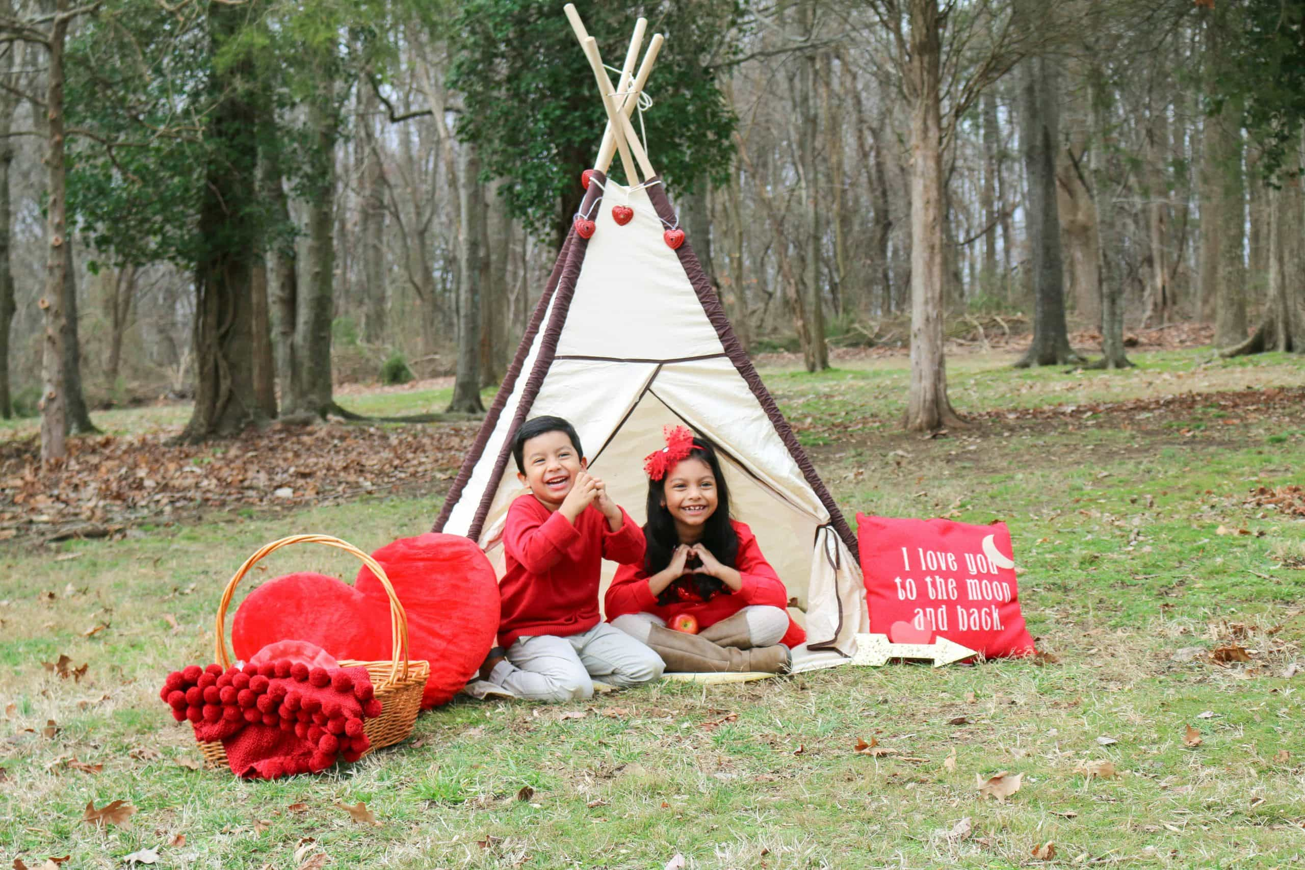 Ideas de Fotos para San Valentin con niños