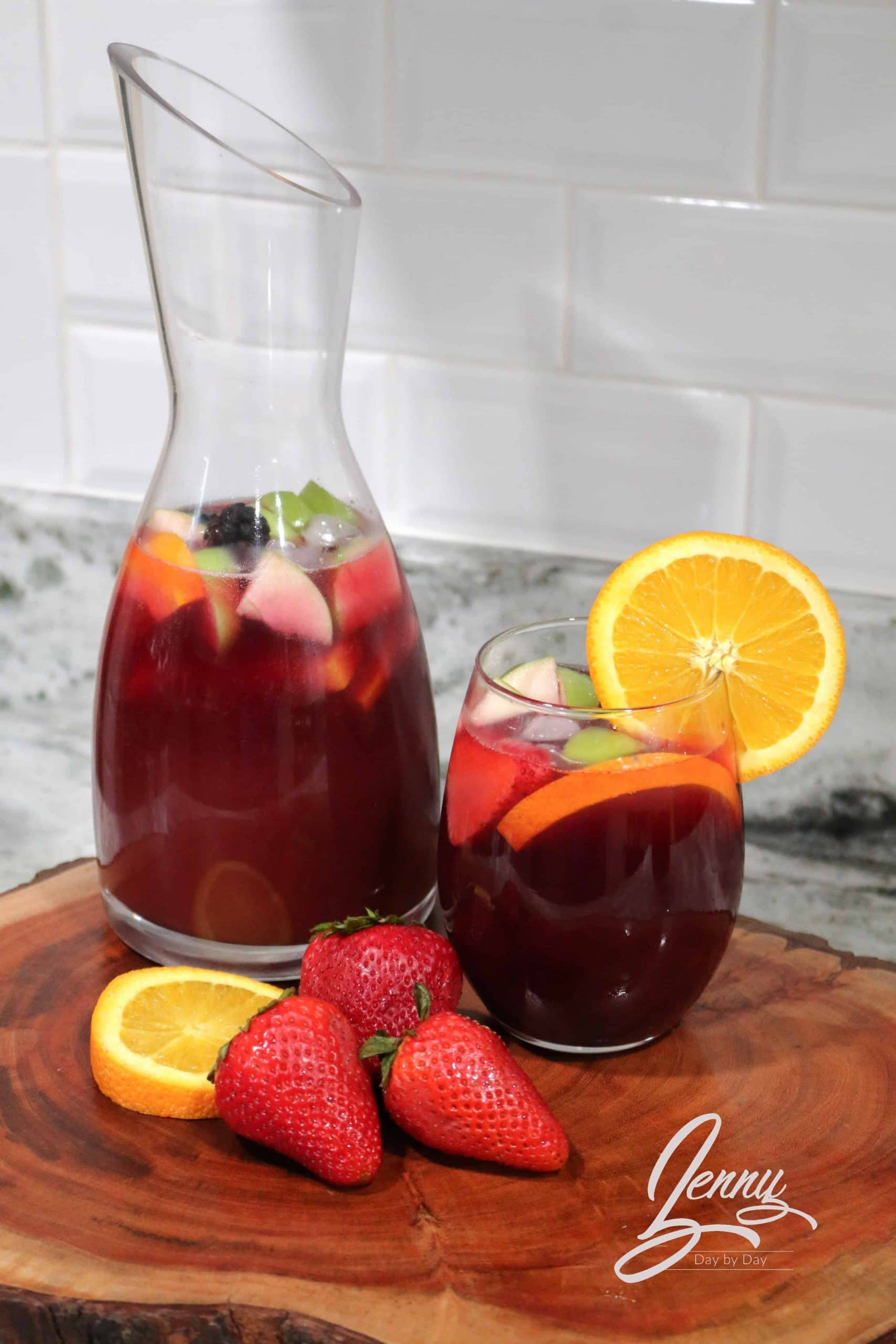 Sangria Punch recipe 1 scaled - Sangria Punch