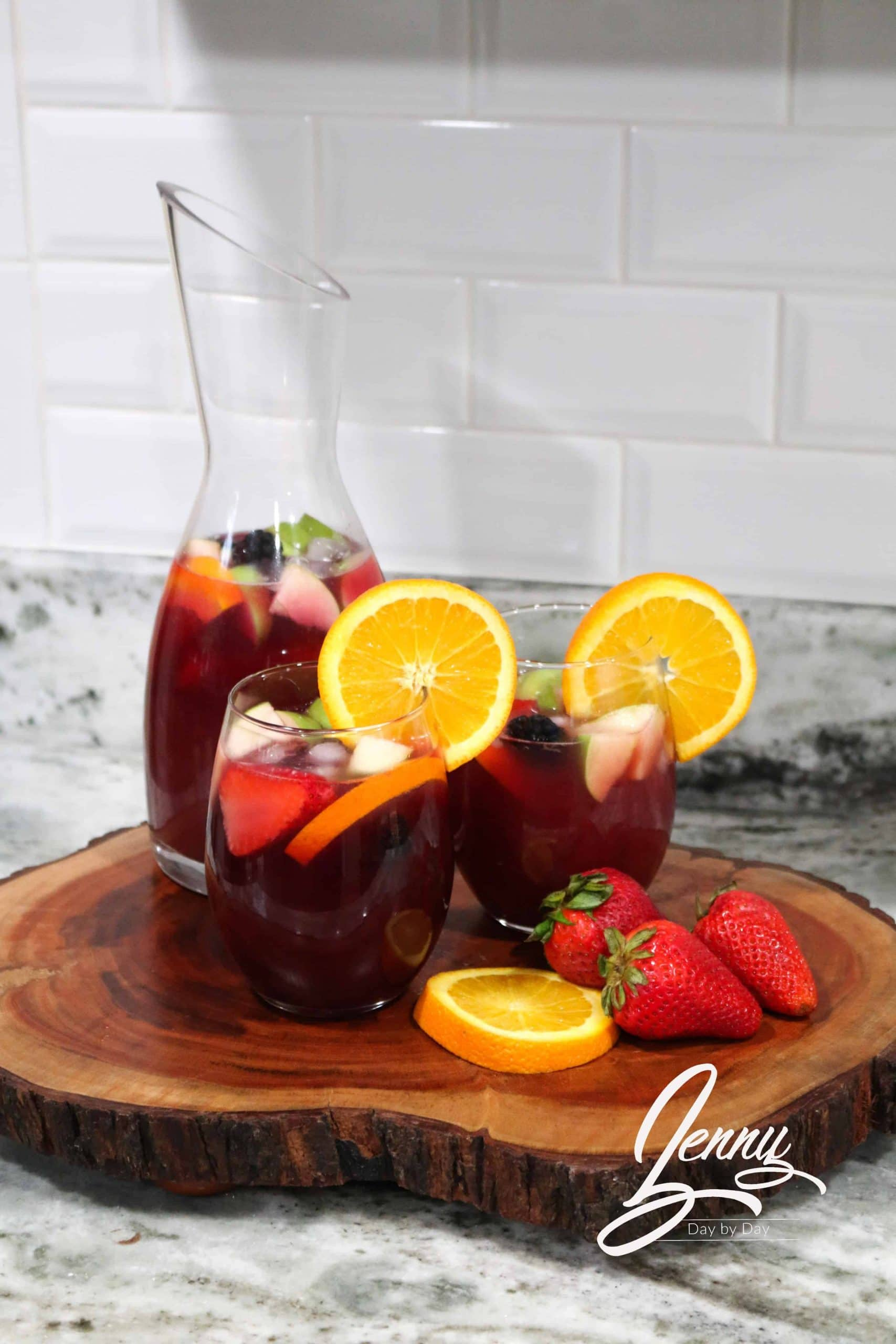 Sangria Punch recipe 2 scaled - Sangria Punch