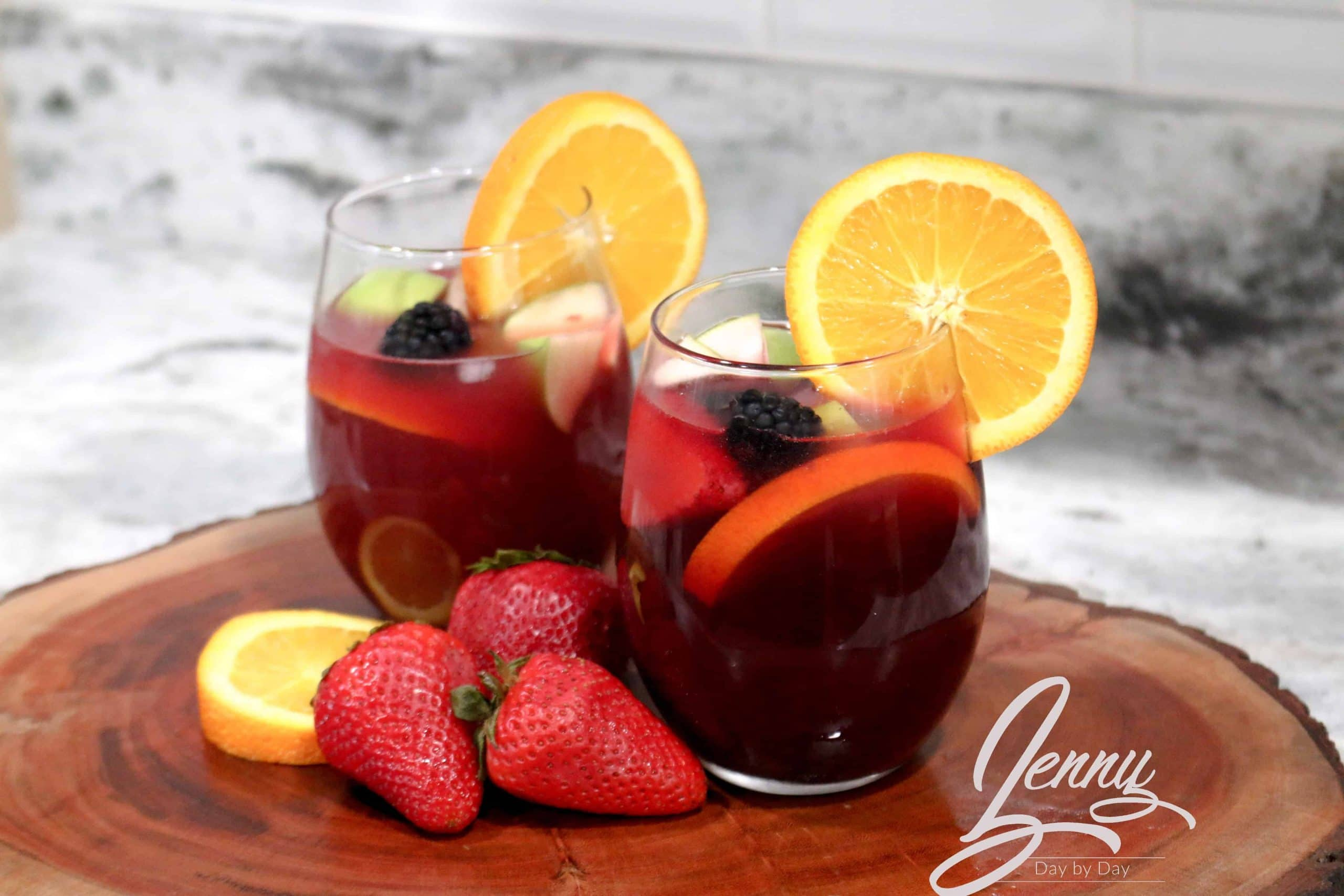 Sangria Punch recipe 4 scaled - Sangria Punch