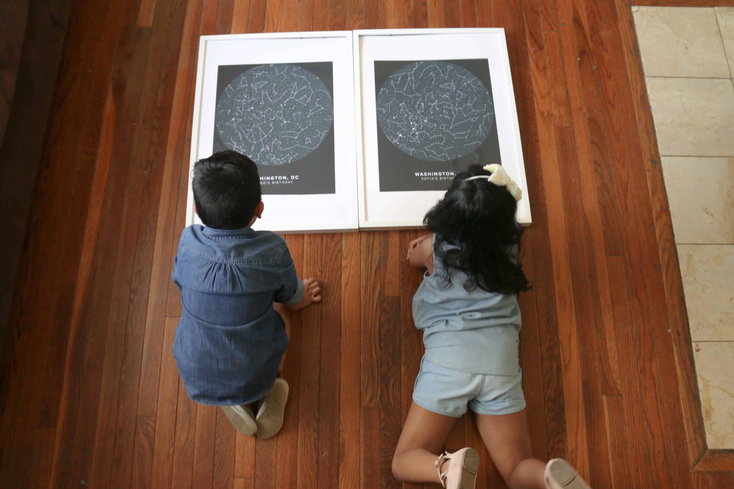 Mapa de las Estrellas Mapiful 2 scaled - Como se veía el mapa de las estrellas el día de tu Nacimiento