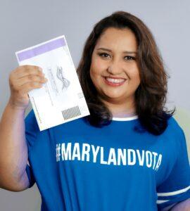 Cómo-votar-correctamente-Voto-2020- Maryland