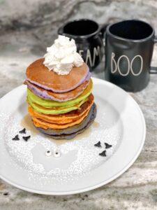 Como preparar pancakes de halloween - halloween pancakes