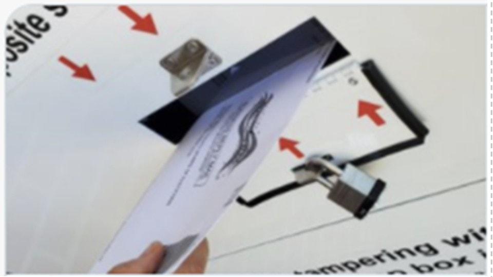 Buzones electorales Maryland