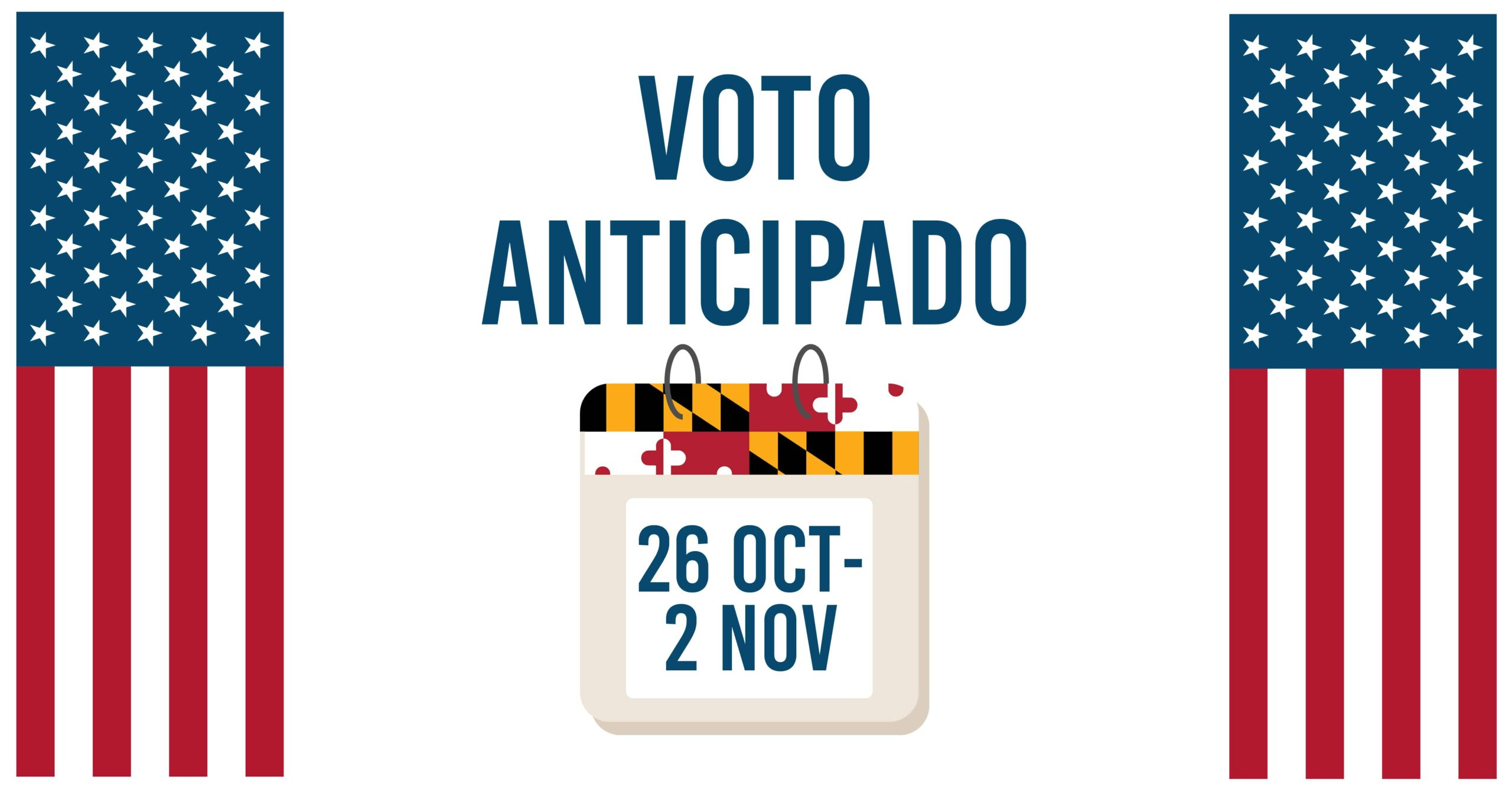 Voto anticipado en Maryland 2
